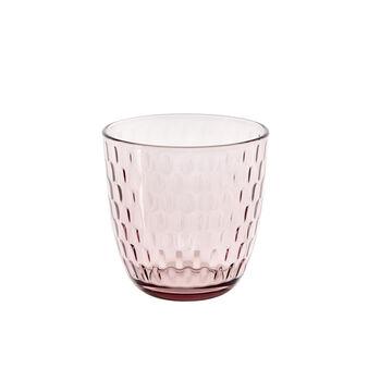 Bicchiere vetro rosa