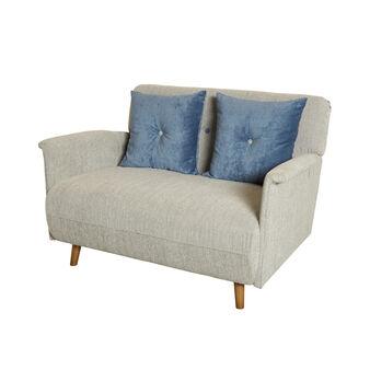 Elegant fabric sofa bed