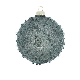 Hand-decorated bauble with beads