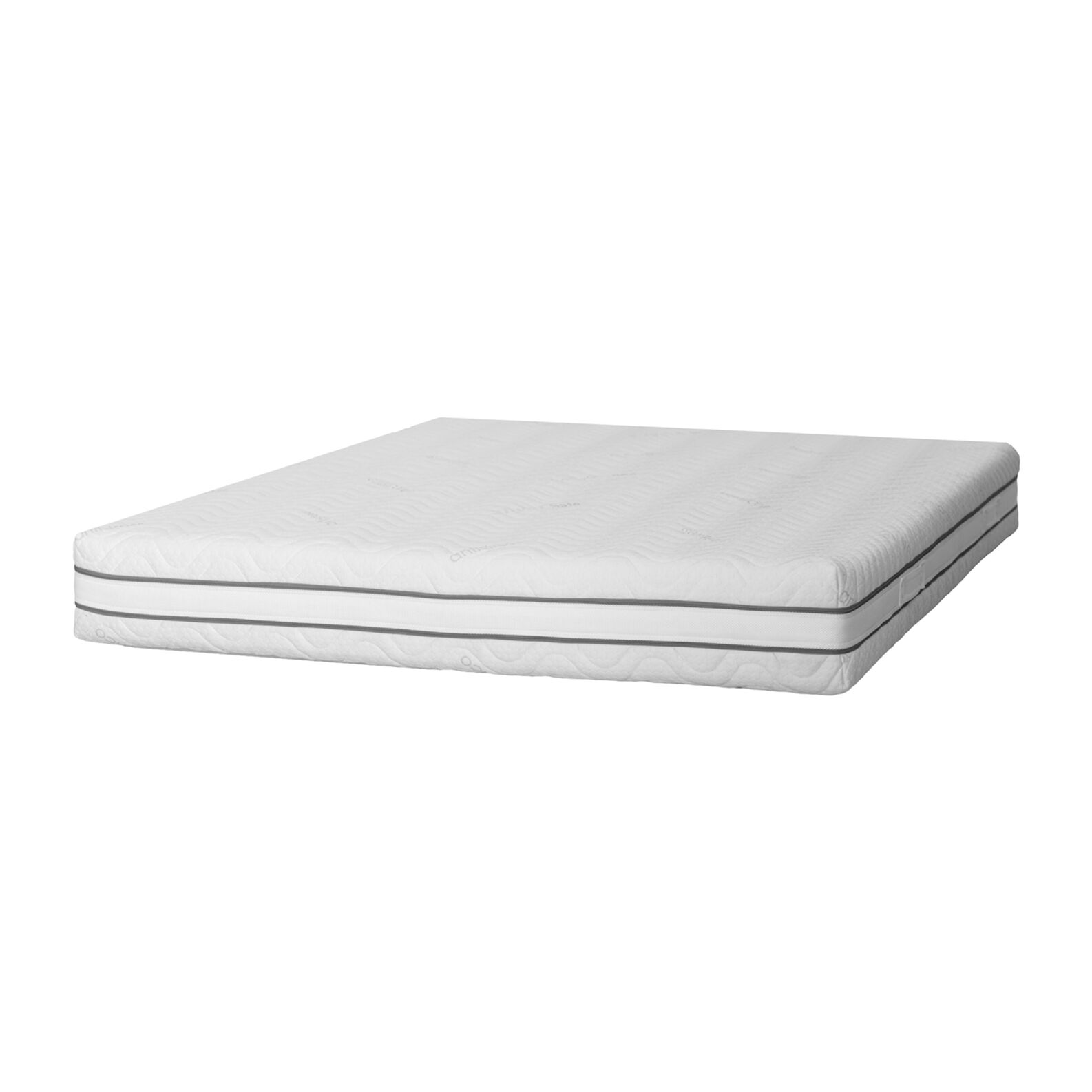 Two-season mattress with removable cover