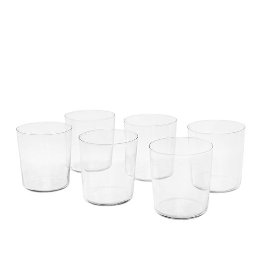 Set of 6 Starck water tumblers