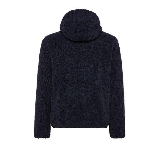 Reversible jacket with zip