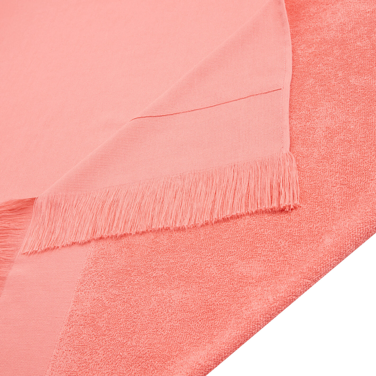 Ultra light cotton terry hammam beach towel