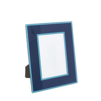 Portafoto cornice vetro colorato