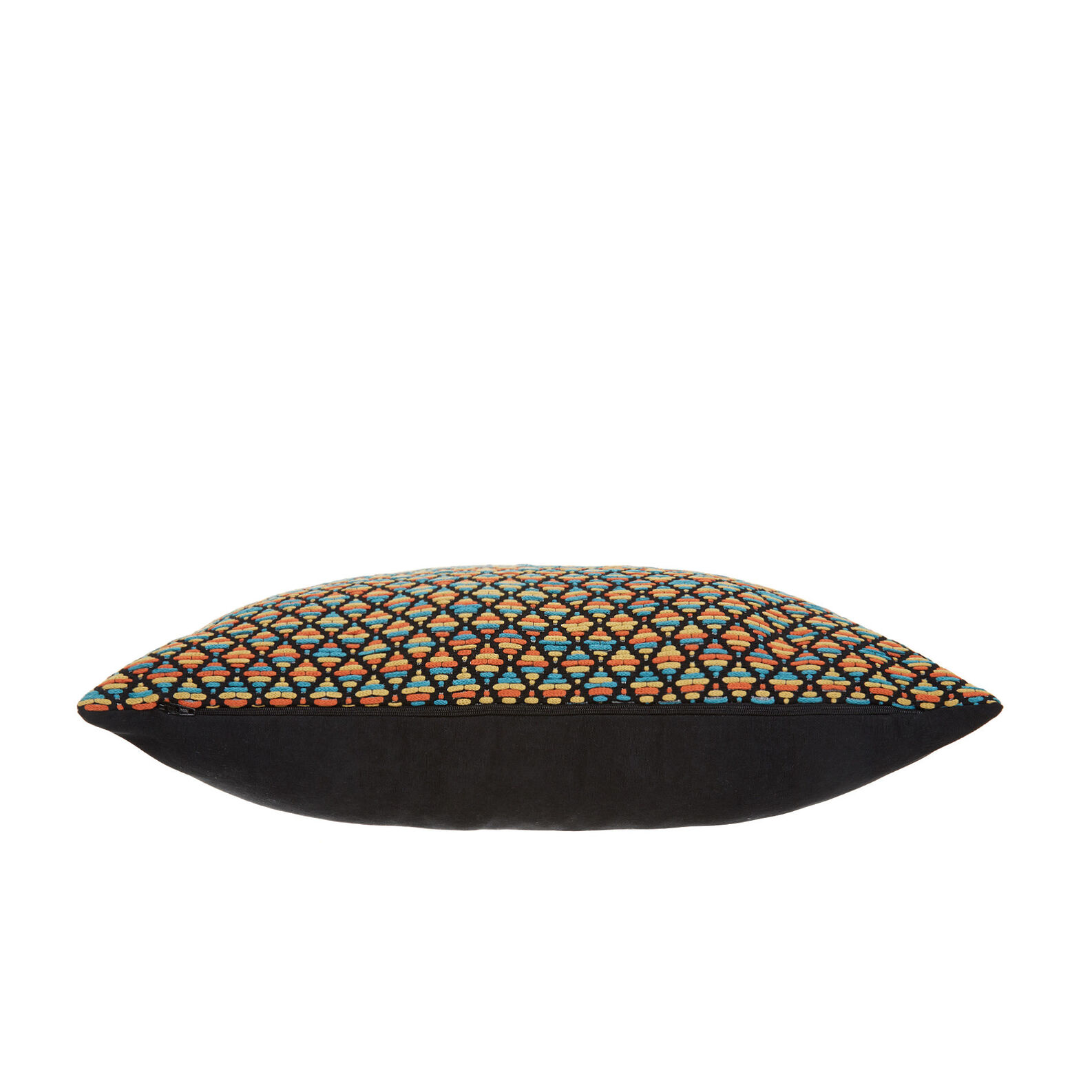 Cushion with zigzag motif 35 x 55 cm