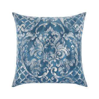 Damask print cushion 45x45cm