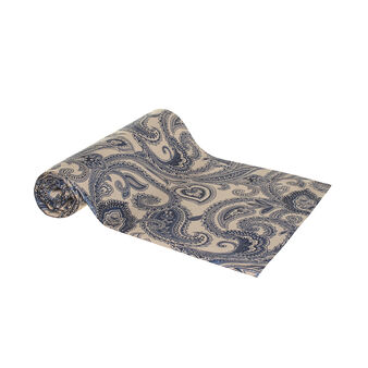 Paisley throw in 100% cotton