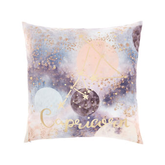 Cushion cover with Capricorn print 45x45cm
