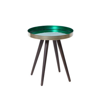 Feuille coffee table in metal