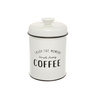 Enamelled iron Coffee tin