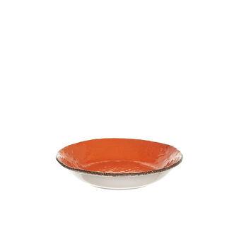 Piatto fondo ceramica fatto a mano