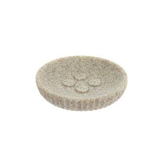 Sand stone-effect soap dish