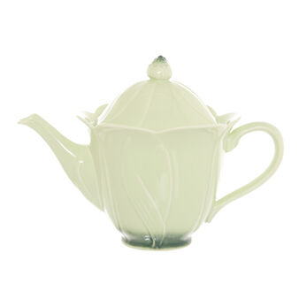Porcelain flower teapot