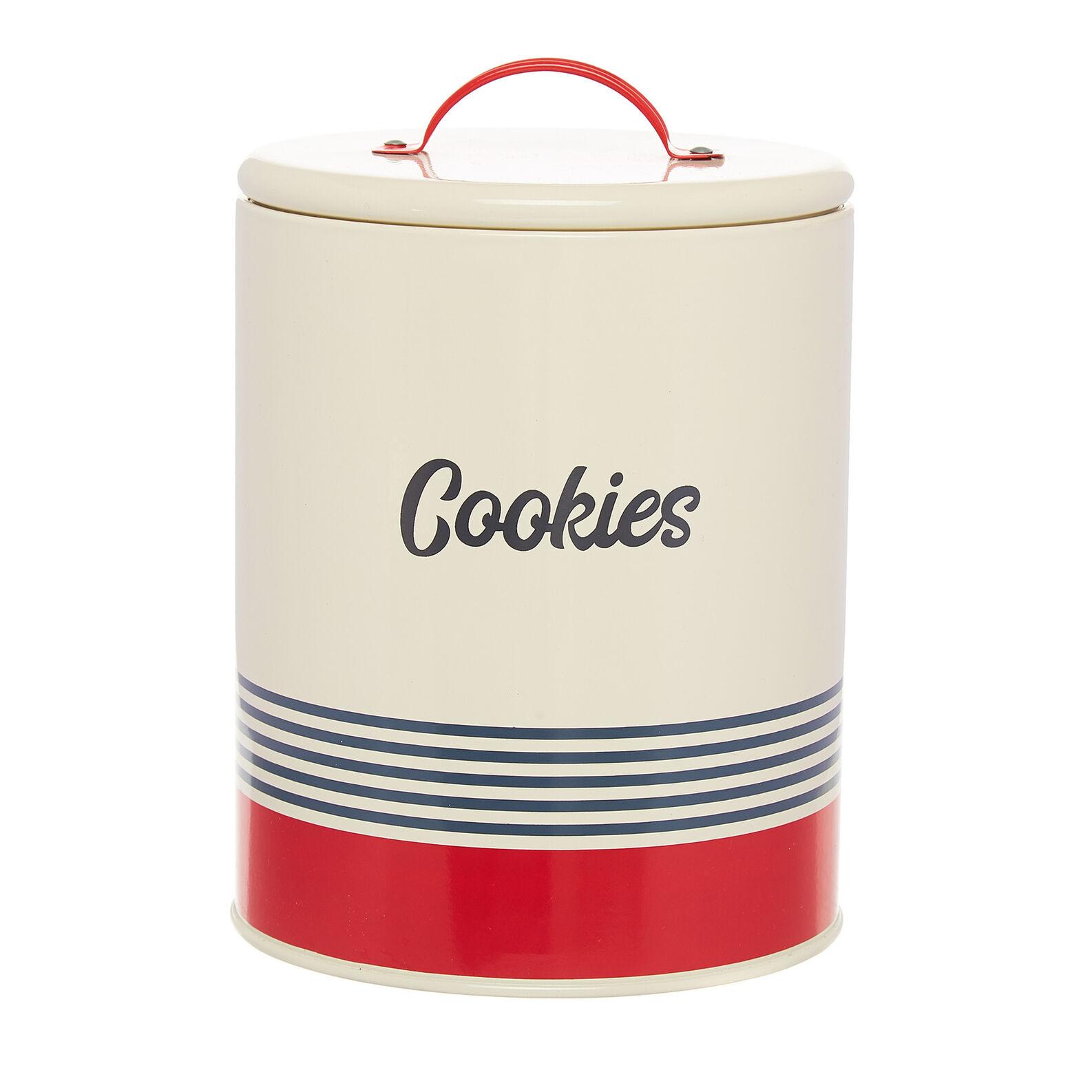 Enamelled iron Cookies tin
