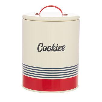 Barattolo ferro smaltato Cookies