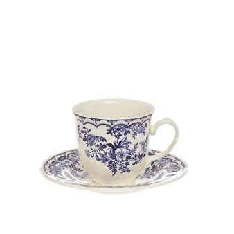 Tazza tè ceramica Blue Flower