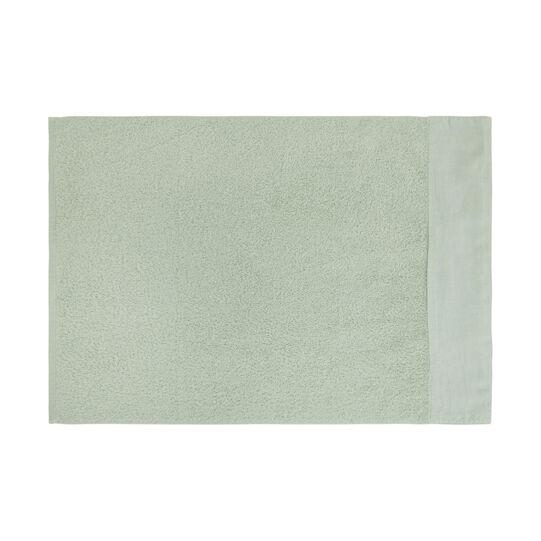 Telo bagno puro cotone biologico bordo in lino