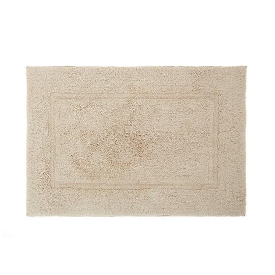 Tappeto bagno cotone tinta unita