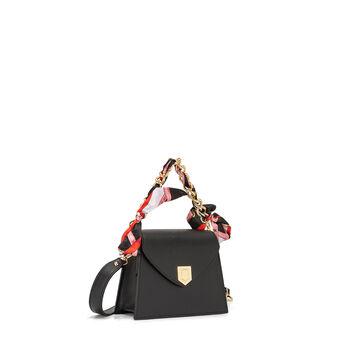 Handbag in genuine Koan leather