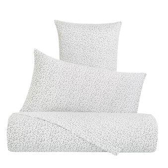 Completo lenzuola raso di cotone fantasia costellazione