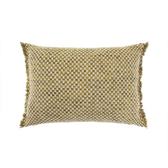 Cushion with braided weave