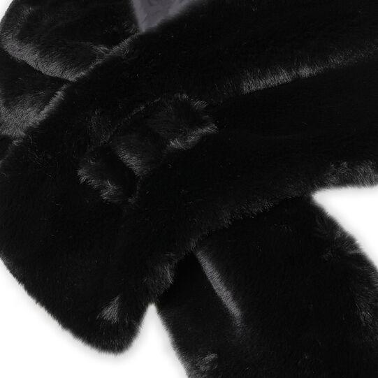 Koan fur effect cape