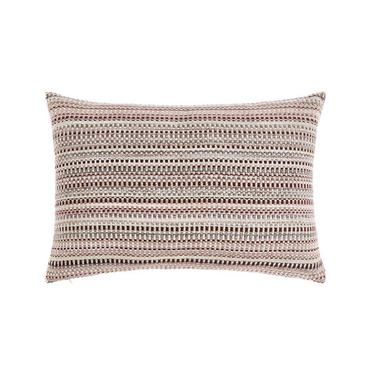 Jacquard striped cushion 35x55cm