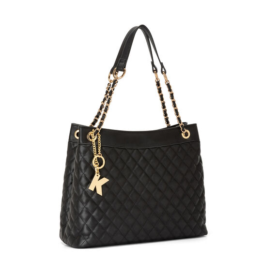 Koan quilted-effect shopping bag
