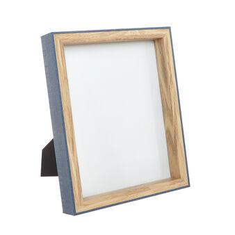Wooden photo frame.