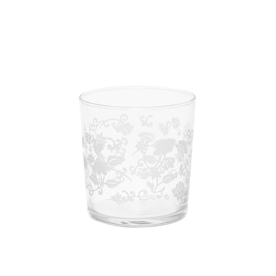 Provence glass water tumbler