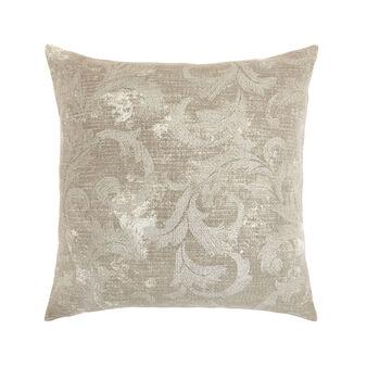 Cushion with medallion print 50x50cm