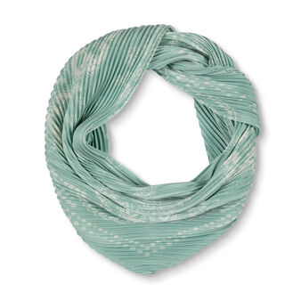 Koan pleated scarf in recycled fabric