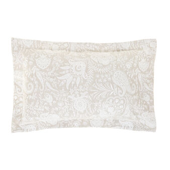 Portofino sham with paisley pattern