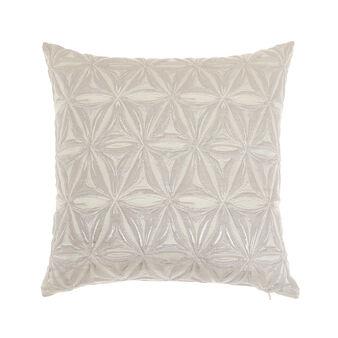 Cuscino jacquard motivi geometrici 45x45cm