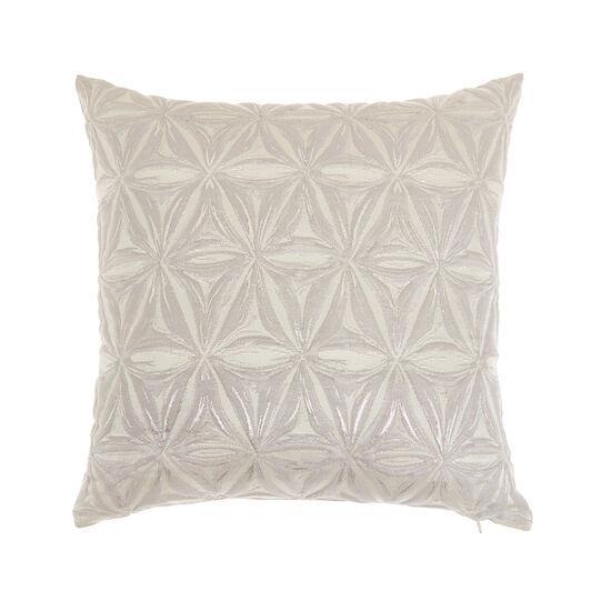 Jacquard cushion with geometric motifs 45x45cm