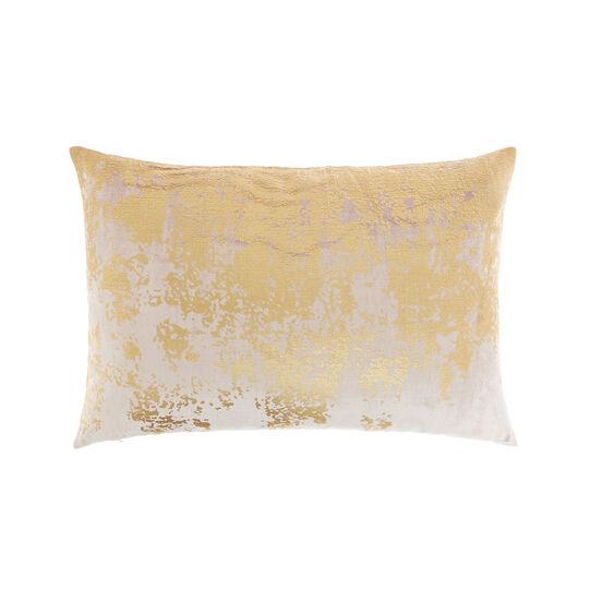 Cuscino velluto effetto spalmato