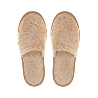 100% cotton terry slippers