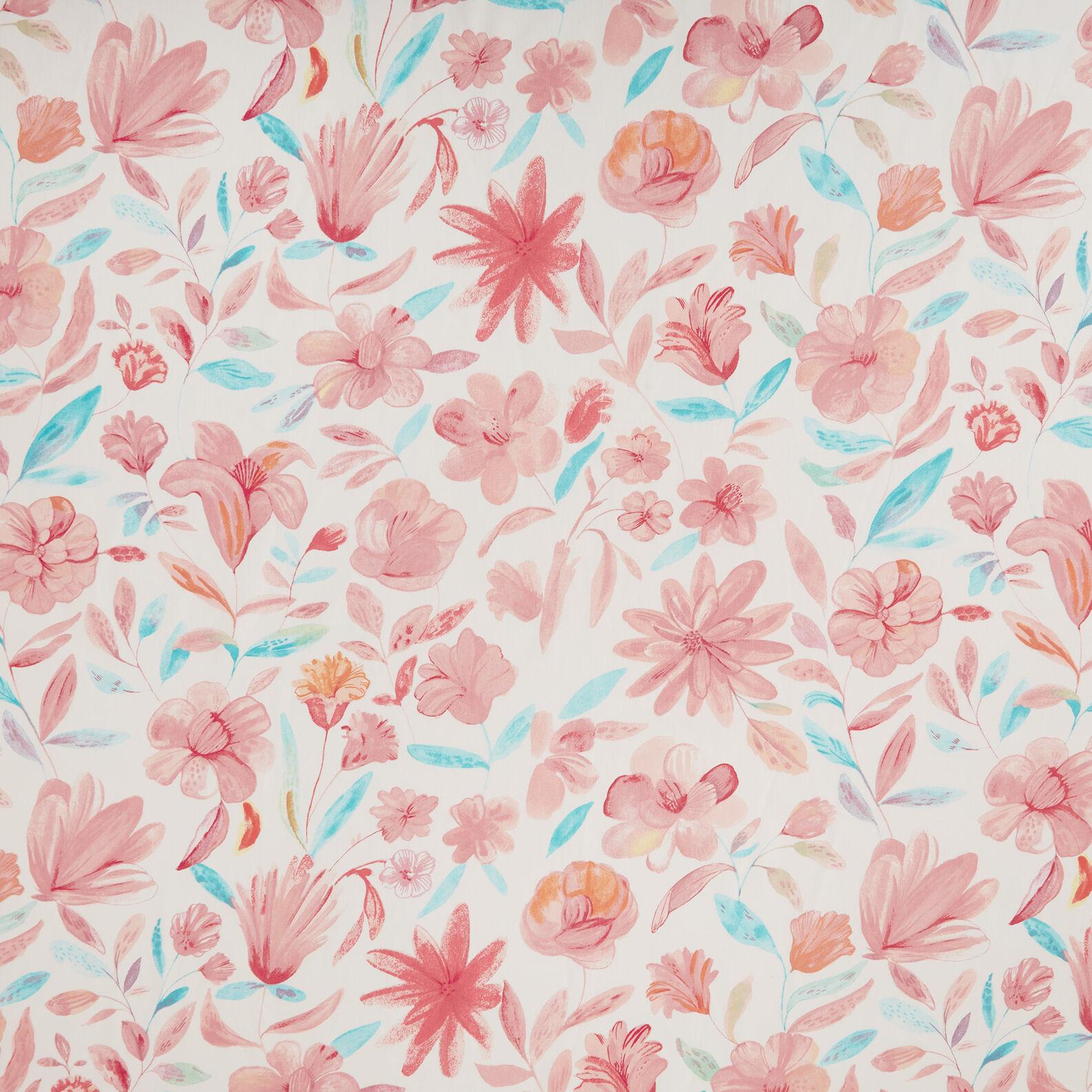 Tovaglia puro cotone stampa floreale