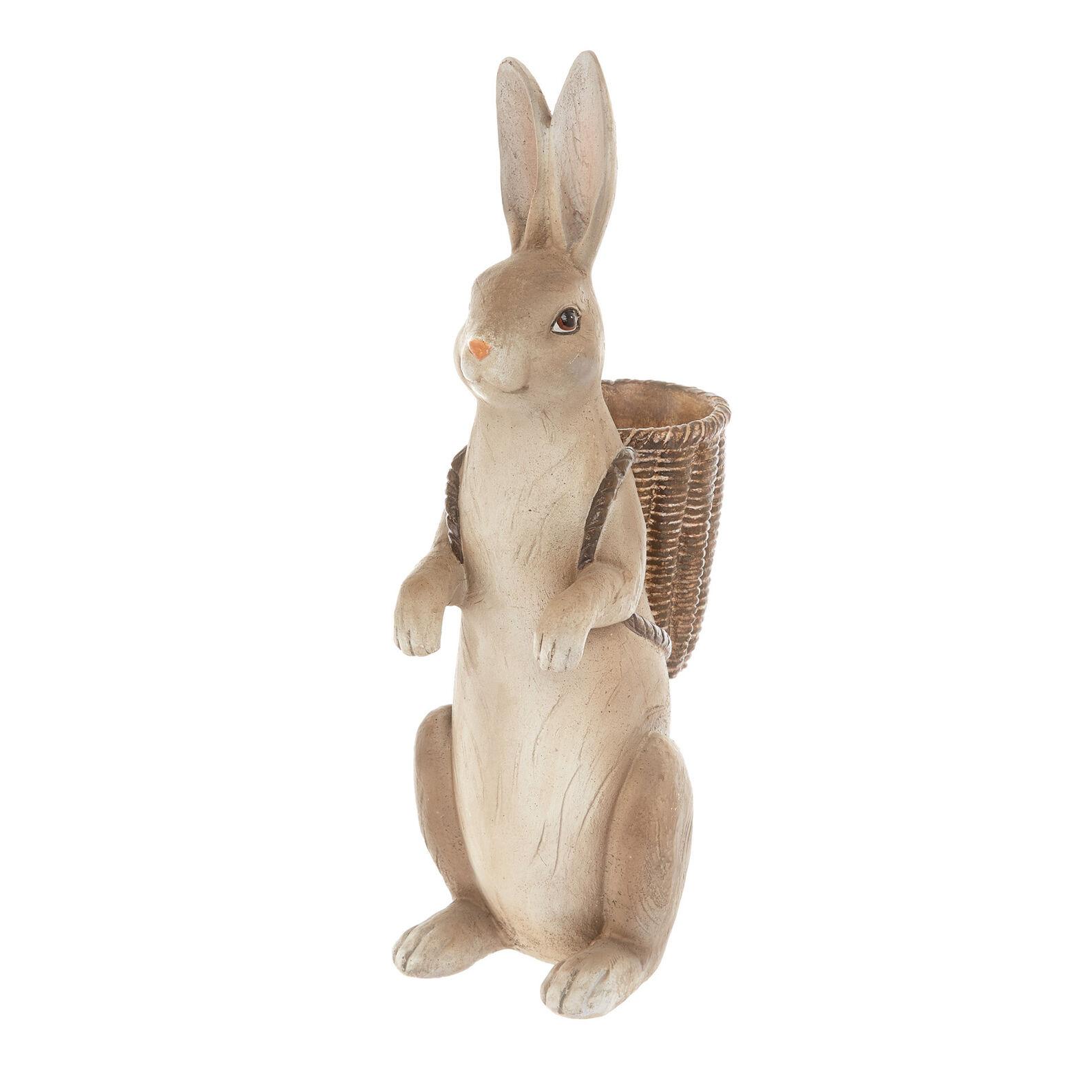 Coniglietto pasquale rifinto a mano