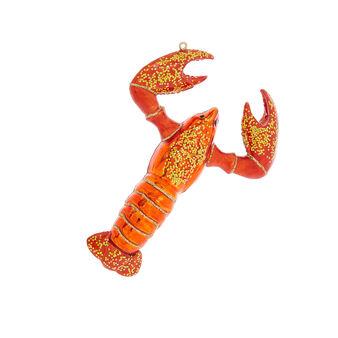 Addobbo aragosta decorato a mano