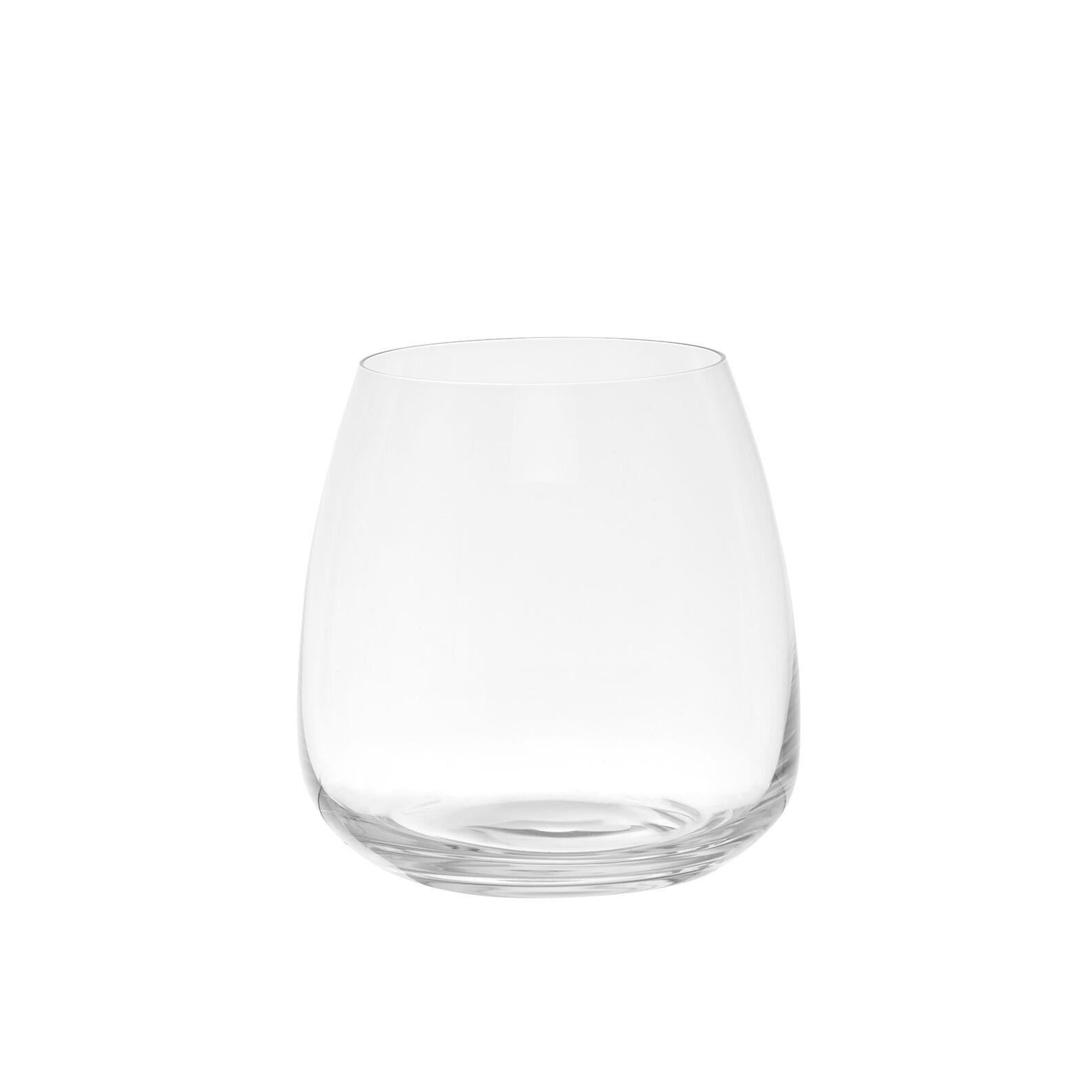 Set of 6 water tumblers in Bohemia crystal