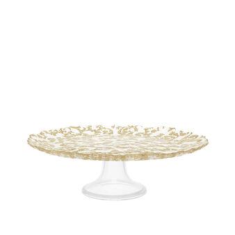 Alzata per torta vetro arabesque