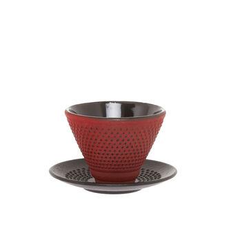 Japanese style cast iron tea cup