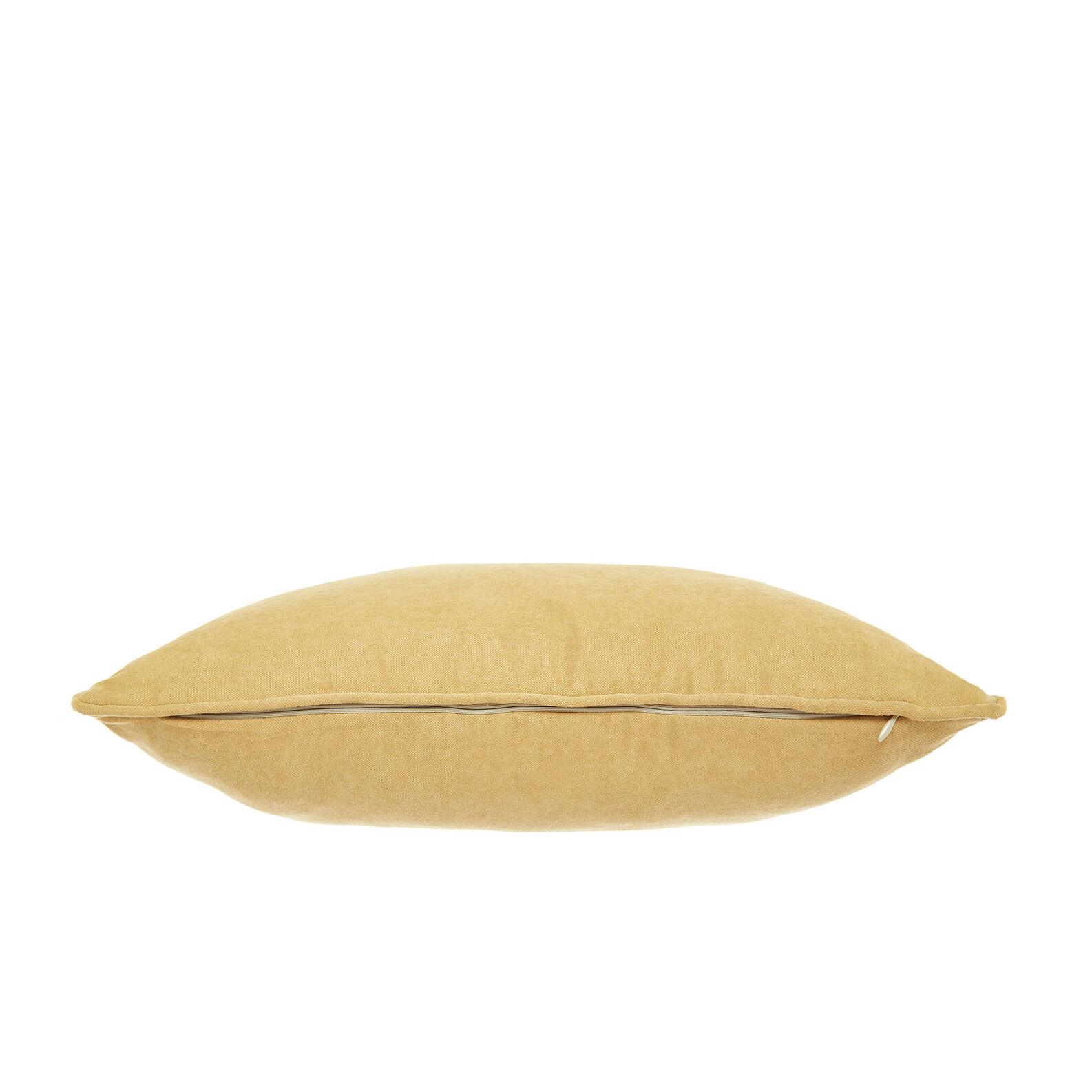 Solid colour velvet cushion (50x50cm)