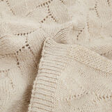 Lamb's wool blend throw