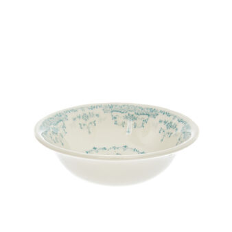 Small ceramic bowl with roses decoration