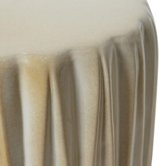 Handmade decorative ceramic base