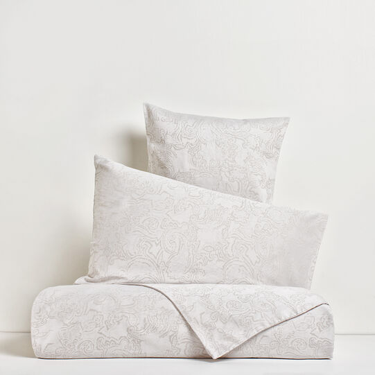 Duvet cover in 100% cotton percale with micro dots