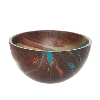 Handmade decorative mango wood bowl