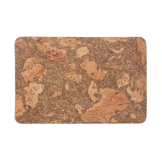 Natural cork table mat